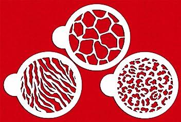und Bastelschablone Designer Schablone CM051 Kleeblatt Miniprint Keks