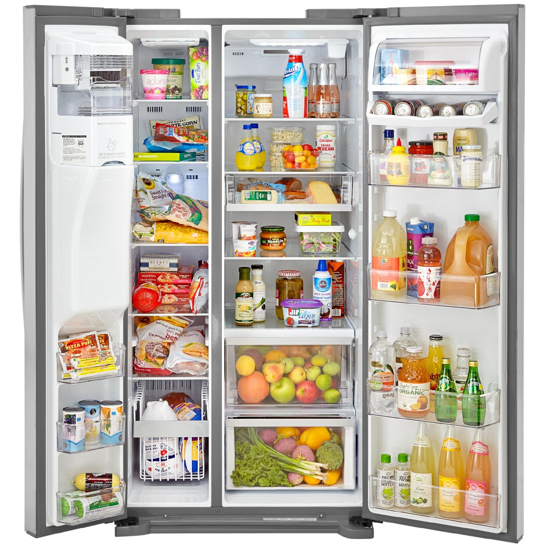 Kenmore Elite 51823 21.9 cu. ft. Side-by-Side Refrigerator in Stainless Steel, includes delivery and hookup (Available in select cities only) by Kenmore (Image #6)