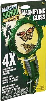 Backyard Safari With Carabiner Magnifying Glass