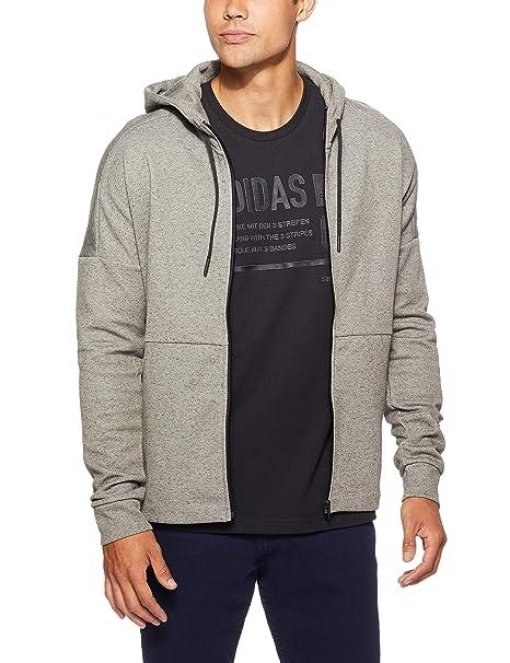 7a5185f128d6 adidas, Giacca con Cappuccio da Uomo ID Stadium Full Zip: Amazon.it:  Abbigliamento