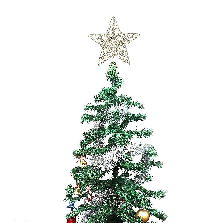 BELLE VOUS Decoracion Arbol Navidad - Adornos Árbol Navidad Coronar Arbol - 8