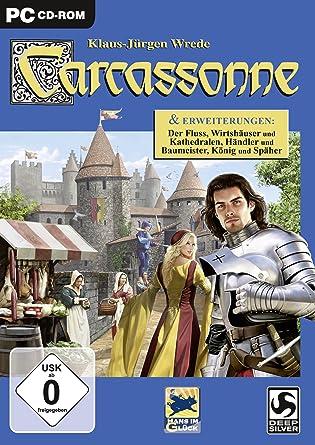 Deep Silver Carcassonne - Juego (PC, Estrategia, CD-ROM, 200 MB, 1024 MB, 1,0 GHz Pentium): Amazon.es: Videojuegos