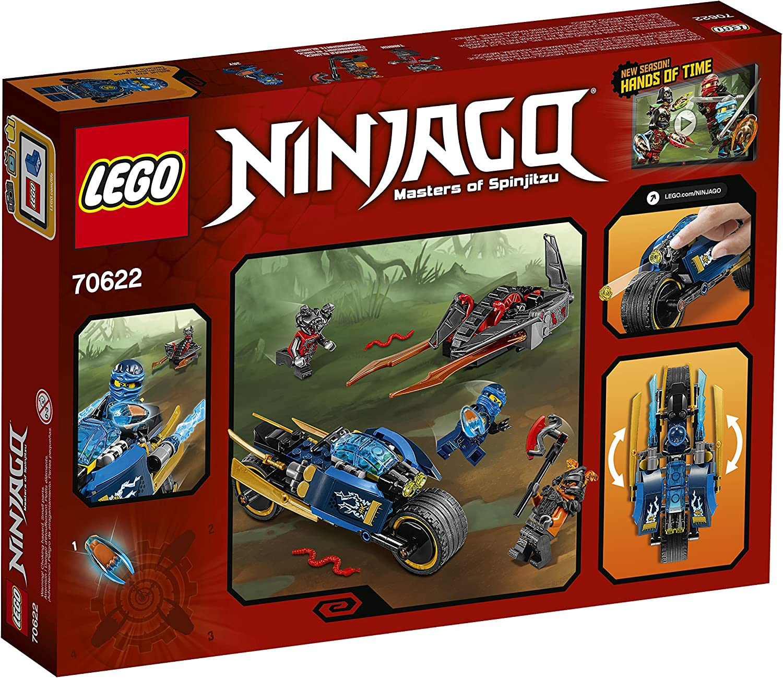 Lego Ninjago Minifigure Jay Hands of TIme 70622 Blue Ninja