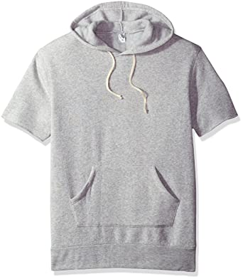f6d68626a Amazon.com: Alternative Men's Short Sleeve Hoodie: Clothing