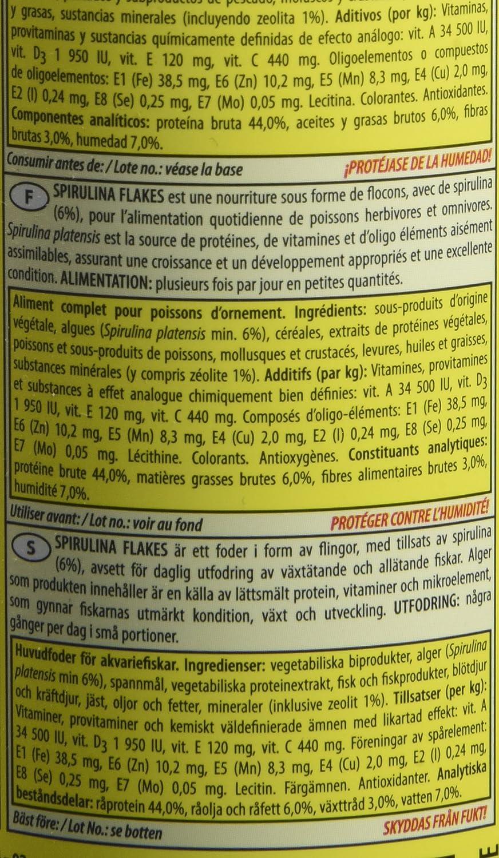 Tropical - Spirulina Flakes - Comida en Copos para ...