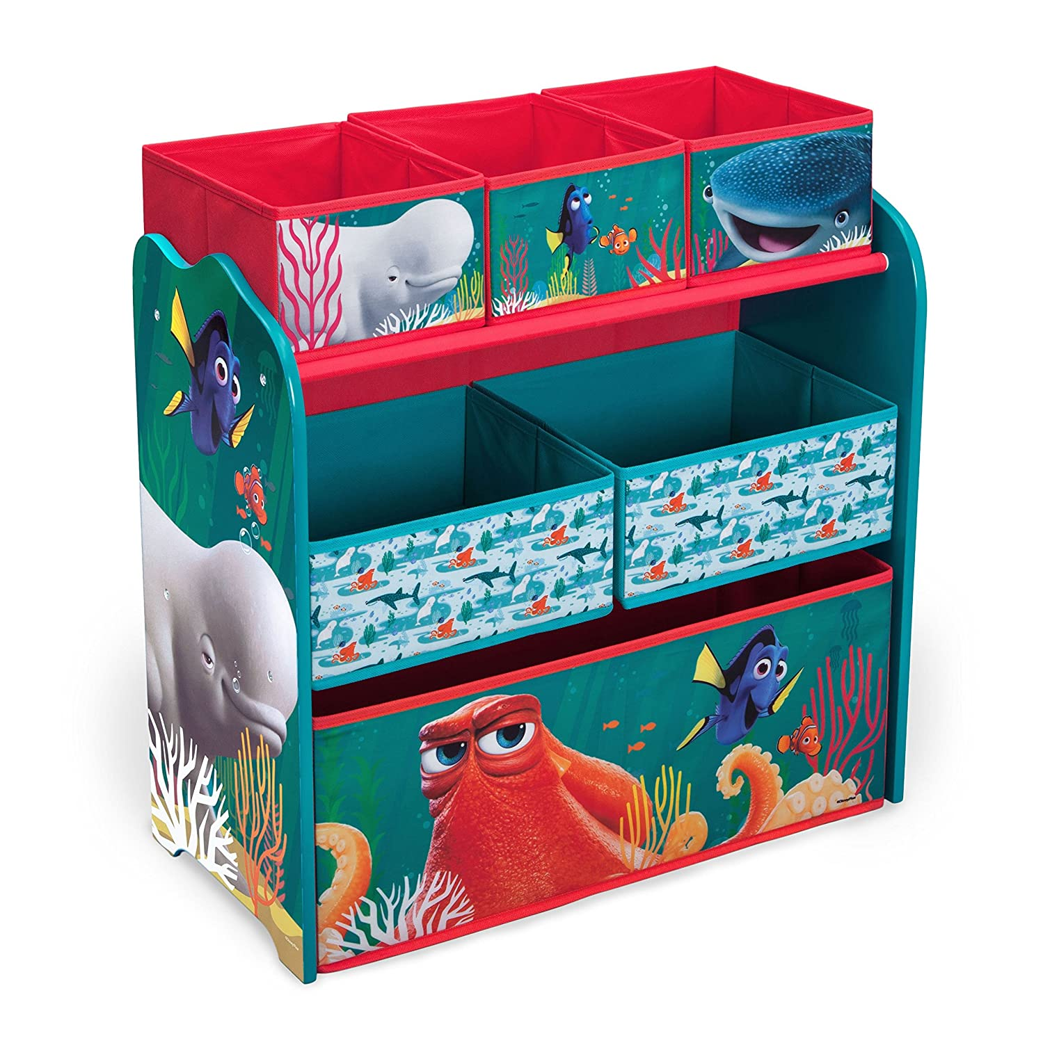 Disney Delta Children Multi-Bin Toy Organizer, Frozen TB84986FZ