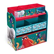 Delta Children Multi-Bin Toy Organizer, Disney/Pixar Finding Dory