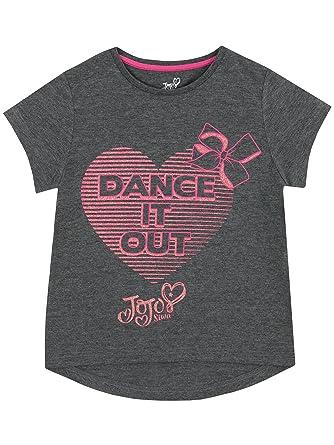 ffbbb6498348 JoJo Siwa Girls T-Shirt Ages 6 to 13 Years: Amazon.co.uk: Clothing