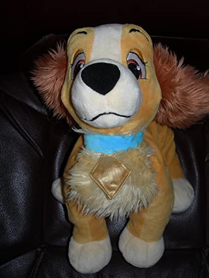 """BRANDNEW DISNEY EXCLUSIVE 8/"""" ADORABLE LADY FURRYTALE FRIENDS LADY ANDTHE TRAMP"""