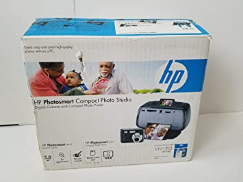 Amazon.com: HP M447 Photosmart Compact Photo Studio cámara ...