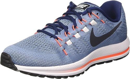 Nike Air Zoom Vomero 12 - Zapatillas de Entrenamiento Hombre, Azul (Work Blue/dark Obsidian/binary Blue), 44: Amazon.es: Zapatos y complementos