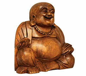 wooden-big-belly-laughing-buddha-statue