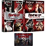Friday the 13th: Movies 1-8 Complete Deluxe Edition DVD 1980s Collection