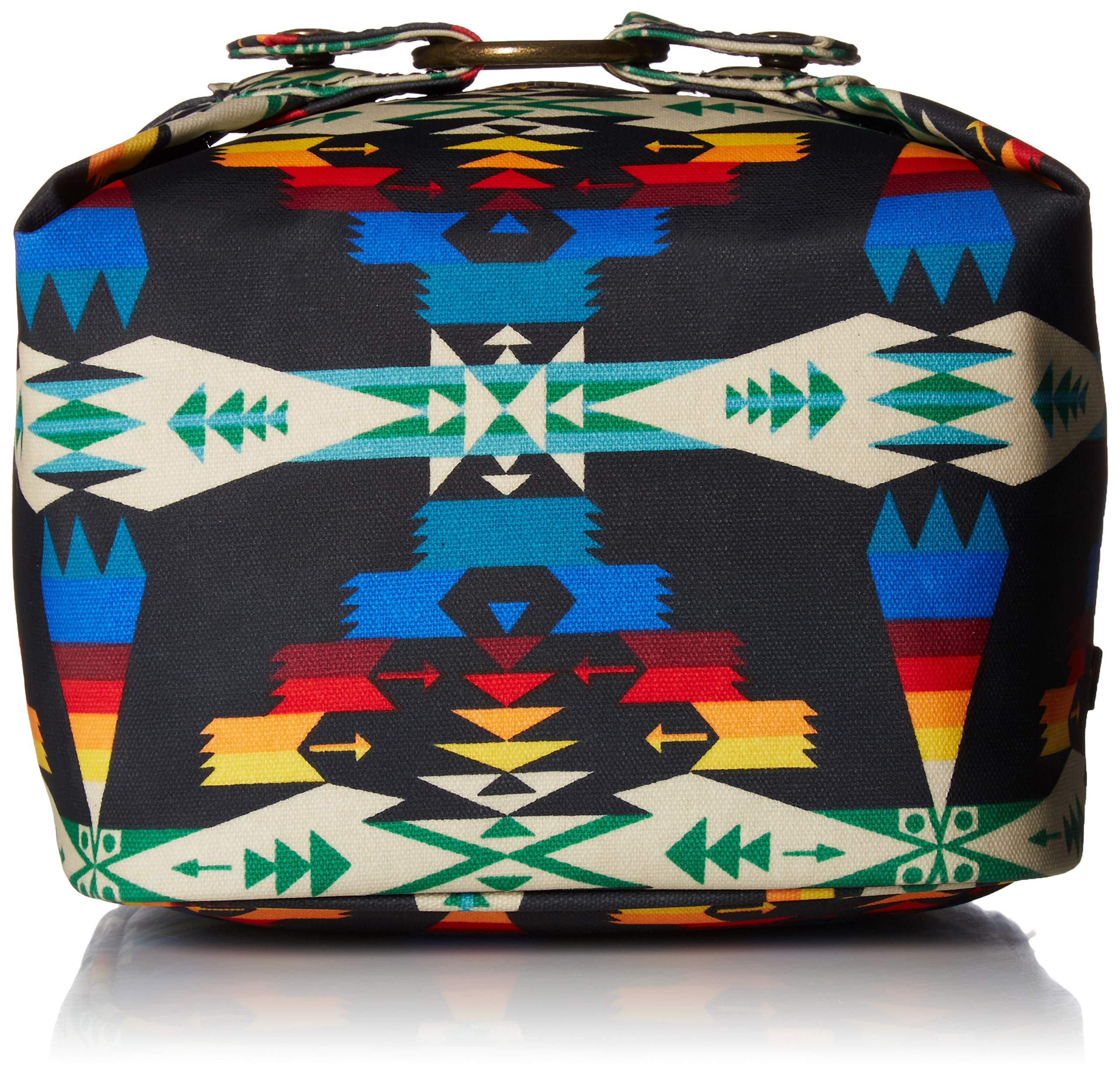 Pendleton Women's Canopy Canvas Square Cosmetic Case, Tucson Black, One Size
