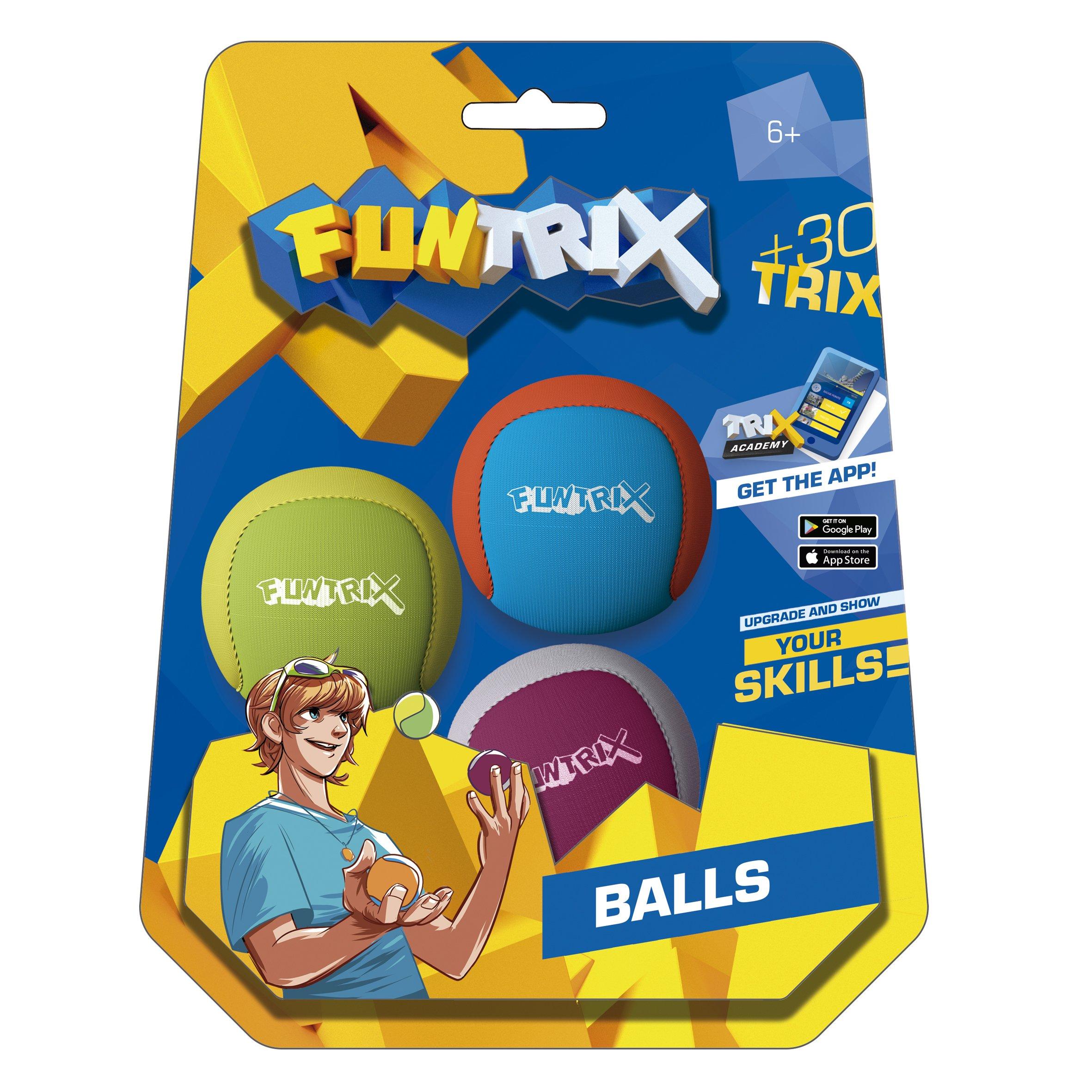 'Trix 50626Juggling Balls Set of 3 by Fun Trix