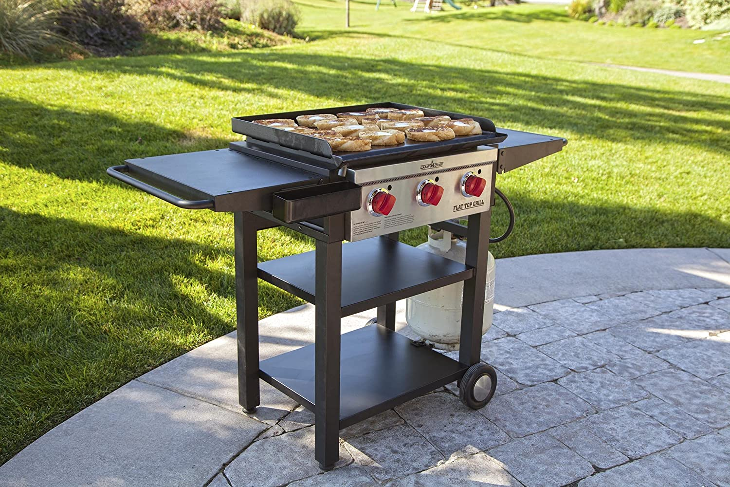 Amazoncom Camp Chef Flat Top Grill 475 Black FTG475 Garden
