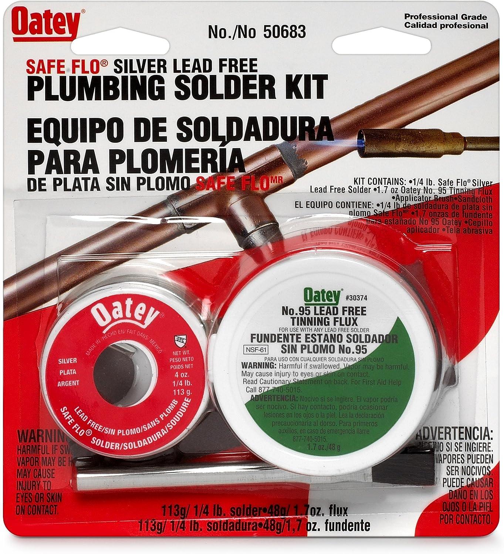 Oatey 50683 1/4lb Silver Safe Flo Solder