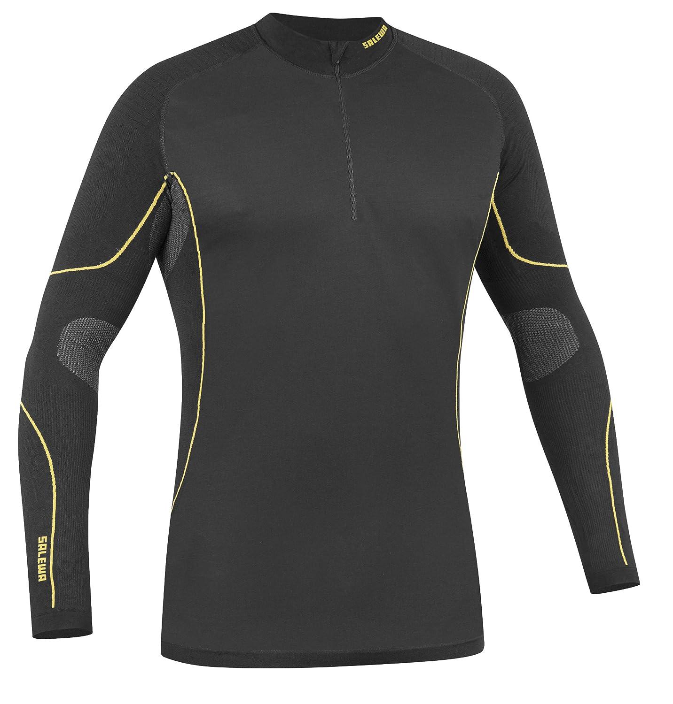Salewa Herren Seamless Shirt SW Seamless Herren Long Sleeve Zip-T 89c267