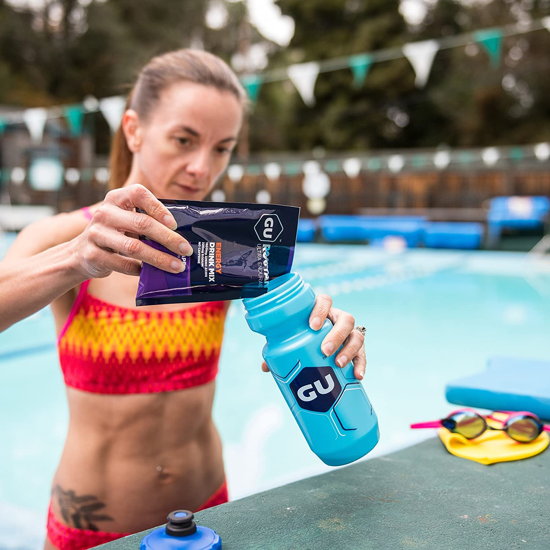 GU Energy Roctane Ultra Endurance Energy Drink Mix, Lemon Berry, 10-Count Packets