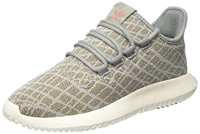 adidas Tubular Shadow, Sneakers Basses Femme, Gris ch Solid Grey/raw Pink,