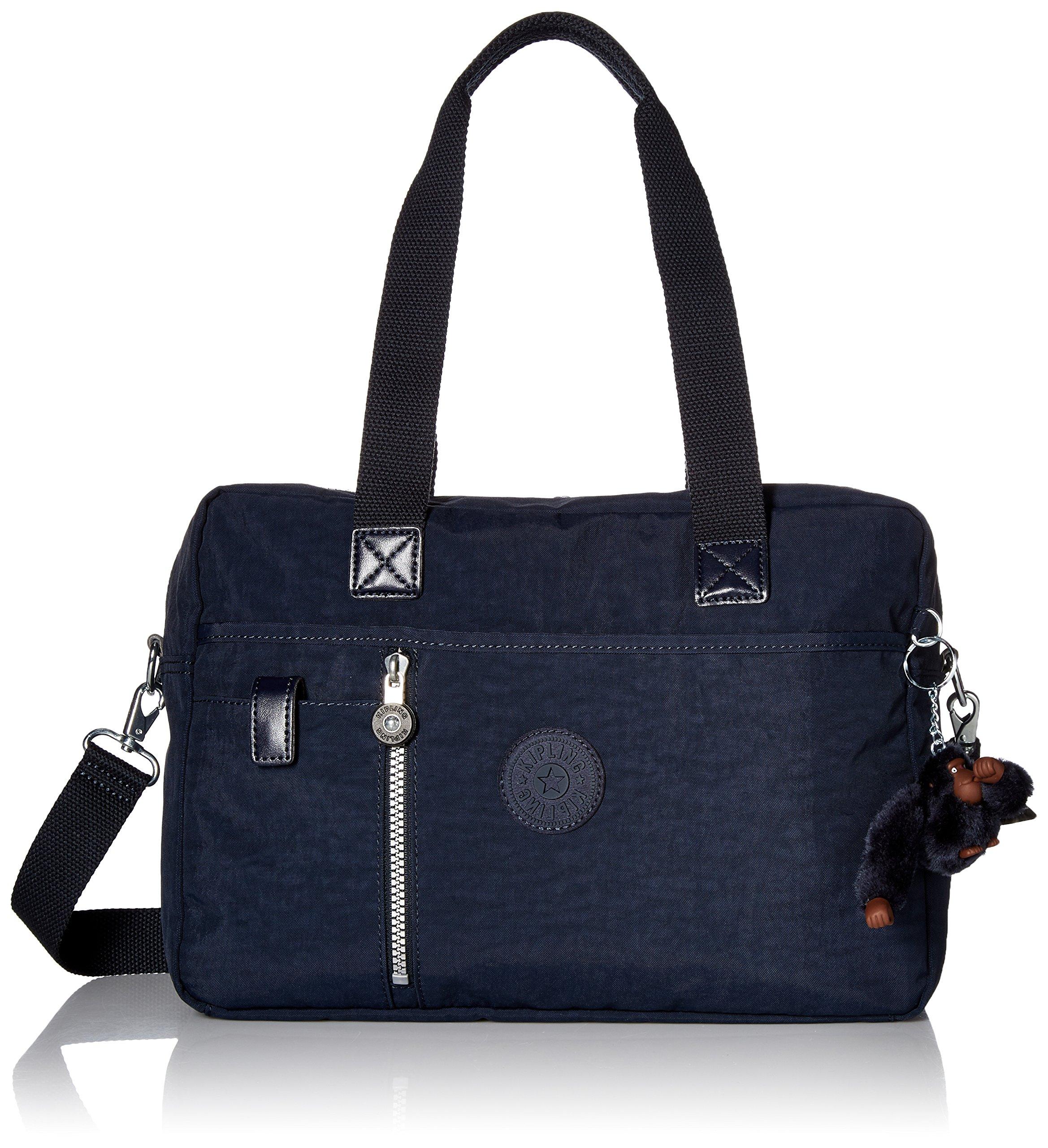 Kipling Dustin Satchel Bag, True Blue