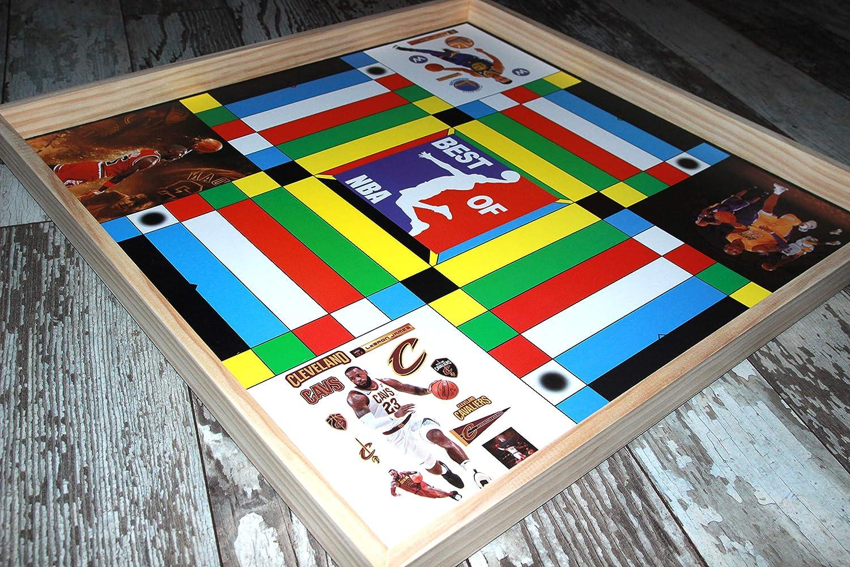 Jamaican Ludo NBA エディション ボードゲーム - ファミリーゲームナイト - 楽しい 多人用 B07HM8BZ99