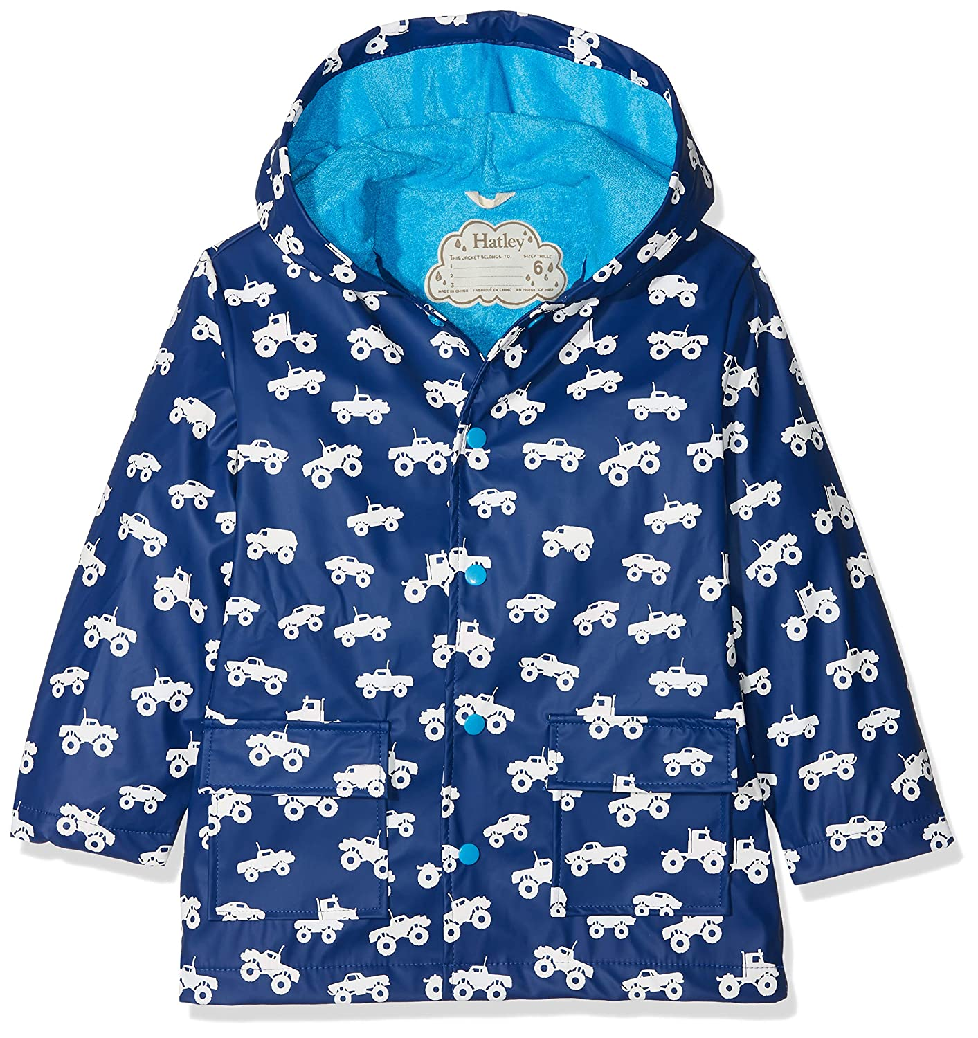 Hatley Boy's Printed Rain Jacket Raincoat