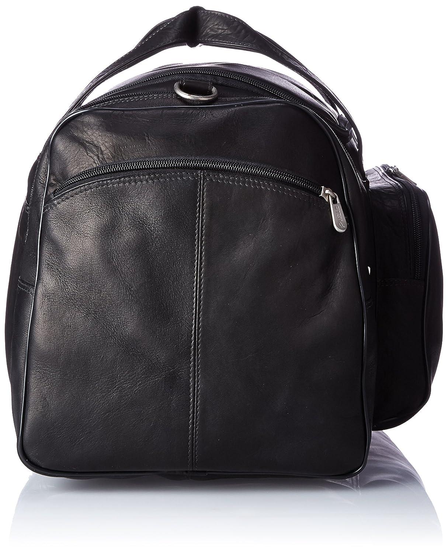 Piel Leather Sports Duffel One Size Saddle