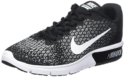 buy popular 1501f e825b Nike Wmns Air Max Sequent 2, Scarpe Running Donna, Nero (Noir Foncé
