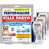 Performacide ~ Disinfectant Kills Parvovirus, Human Coronavirus 229E (HCoV-229E), Influenza-A, Feline Calicivirus, and Avian Influenza-A (Gallon Refill Kit 3pk, NO Bottle)