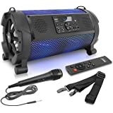Wireless Portable Bluetooth Boombox Speaker - 500W 2.1Ch Rechargeable Boom Box Speaker Portable Barrel Loud Stereo System wit