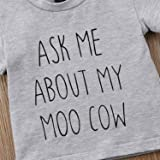 Toddler Kids Baby Boys T-Shirt Ask Me About My