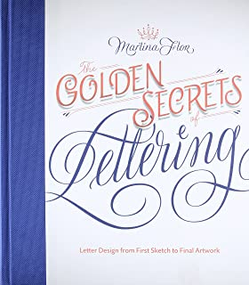 In progress see inside a lettering artists sketchbook and process the golden secrets of lettering letter design from first sketch to final artwork fandeluxe Image collections