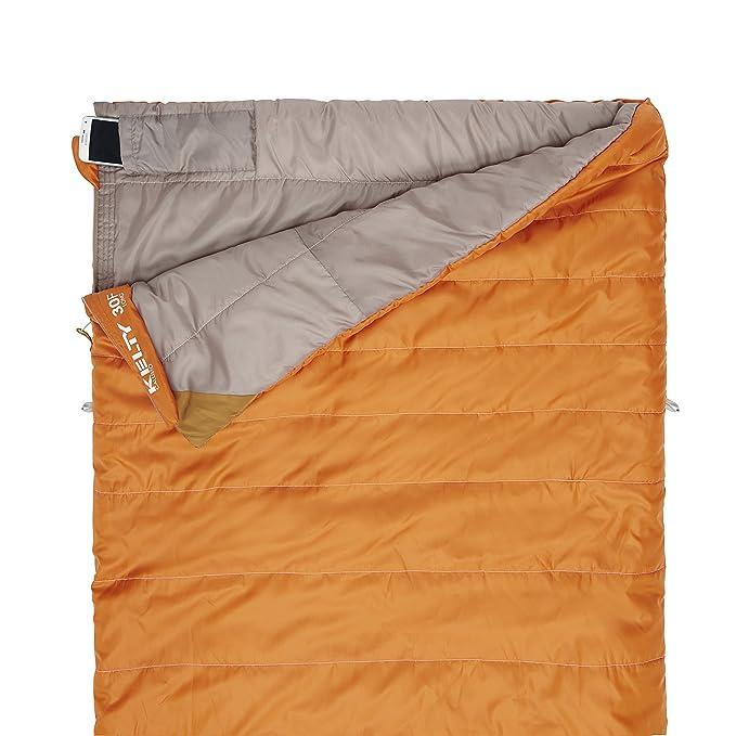 Kelty Callisto largo de 30 grados Saco de dormir, albaricoque naranja: Amazon.es: Deportes y aire libre