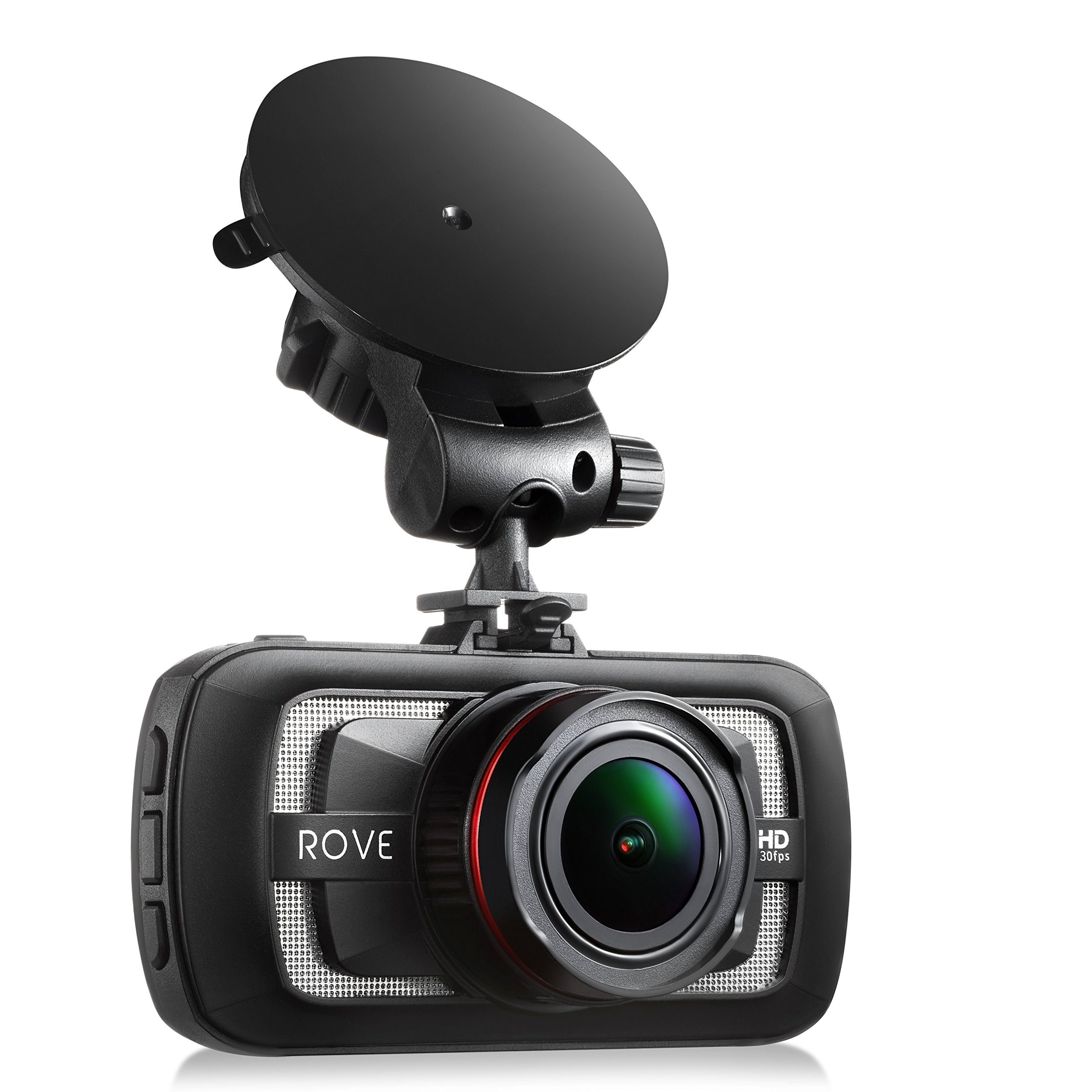 Rove A12-60 - 2.7K Quad HD 1440P at 30fps- Car Dash Cam HDR Superior Nigh Vision Ambarella A12-A55 American Made Chipset 170° Wide Angle Dashboard Camera Car DVR Video Recorder W/ 3.0'' LCD by ROVE