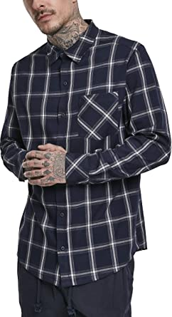 Urban Classics Basic Check Shirt Camisa para Hombre