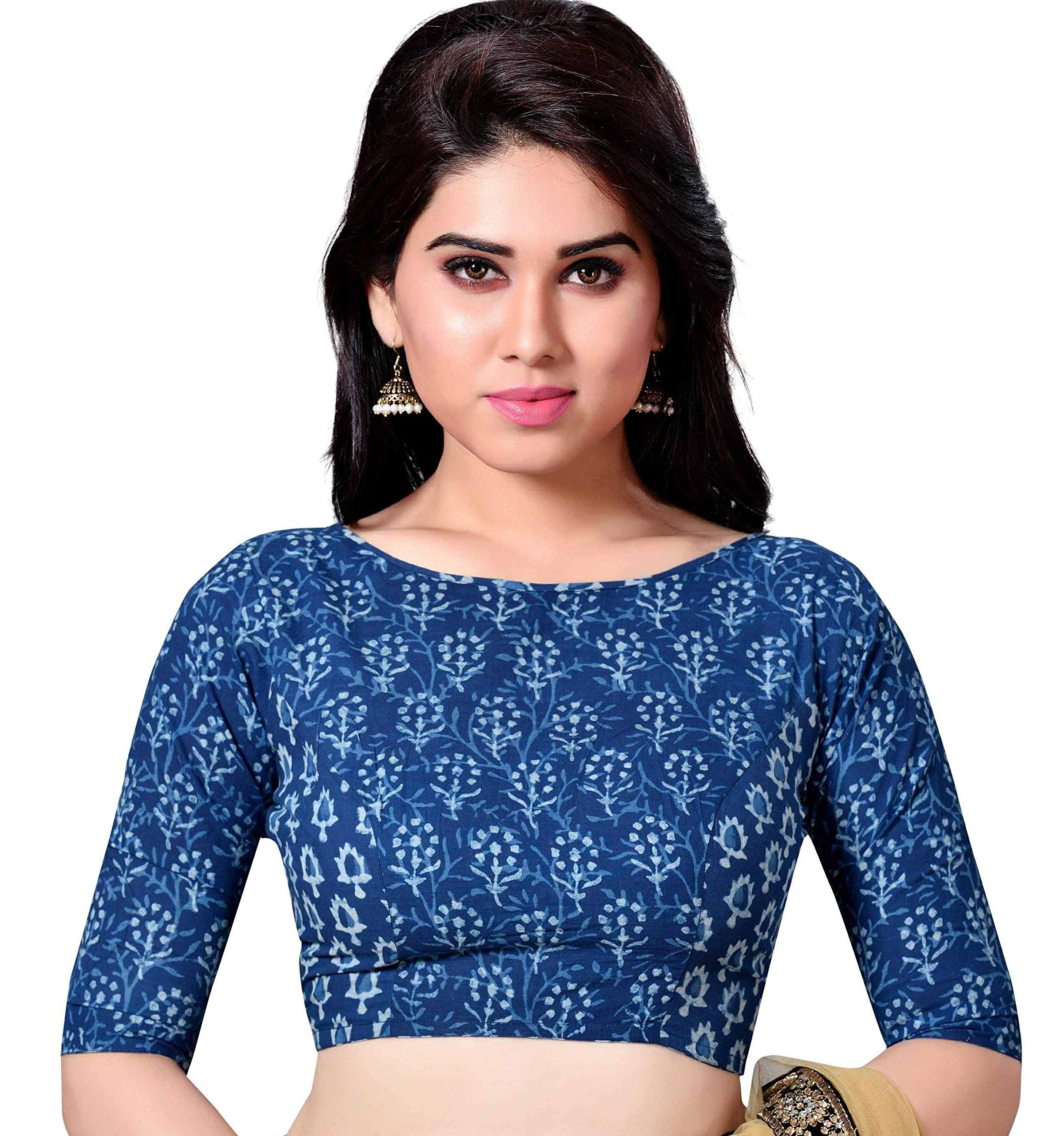 b077345a54e036 Best Rated in Women's Saree Blouses & Helpful Customer Reviews ...