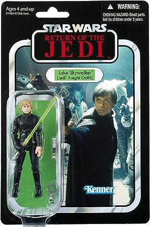 Star Wars Hasbro Figuras Vintage Jedi Luke - Figura de la Guerra de Las Galaxias (10 cm): Amazon.es: Juguetes y juegos