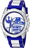 Star Wars Men's RDD1310 Analog Display Analog Quartz Blue Watch
