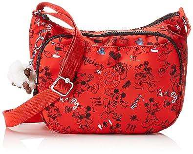 1e91f7026c9 Kipling D Cai, Women's Cross-Body Bag, Multicolour (Sketch Red ...