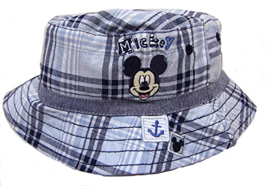 Mickey Mouse Baby Boys Fisherman Style Sun Hat 0-6M up to 2-4Y ... ea332935d86