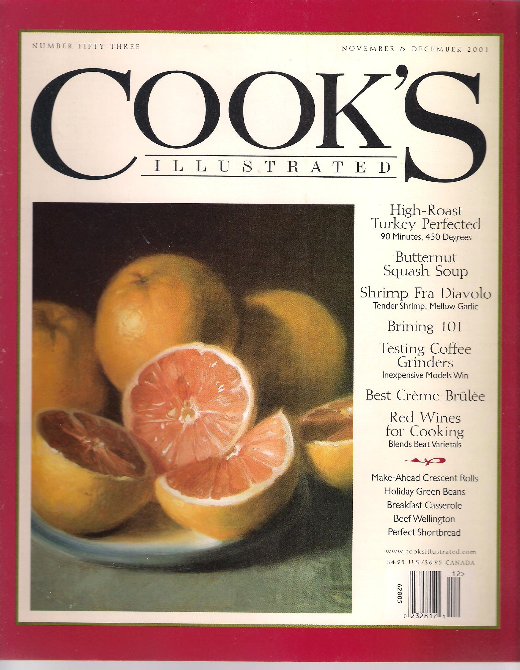 Cook's Illustrated. Number 53 - November & December 2001. pdf epub