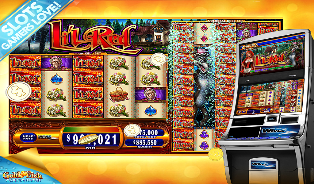 Gold fish casino slots hd appstore for for Fish casino slot
