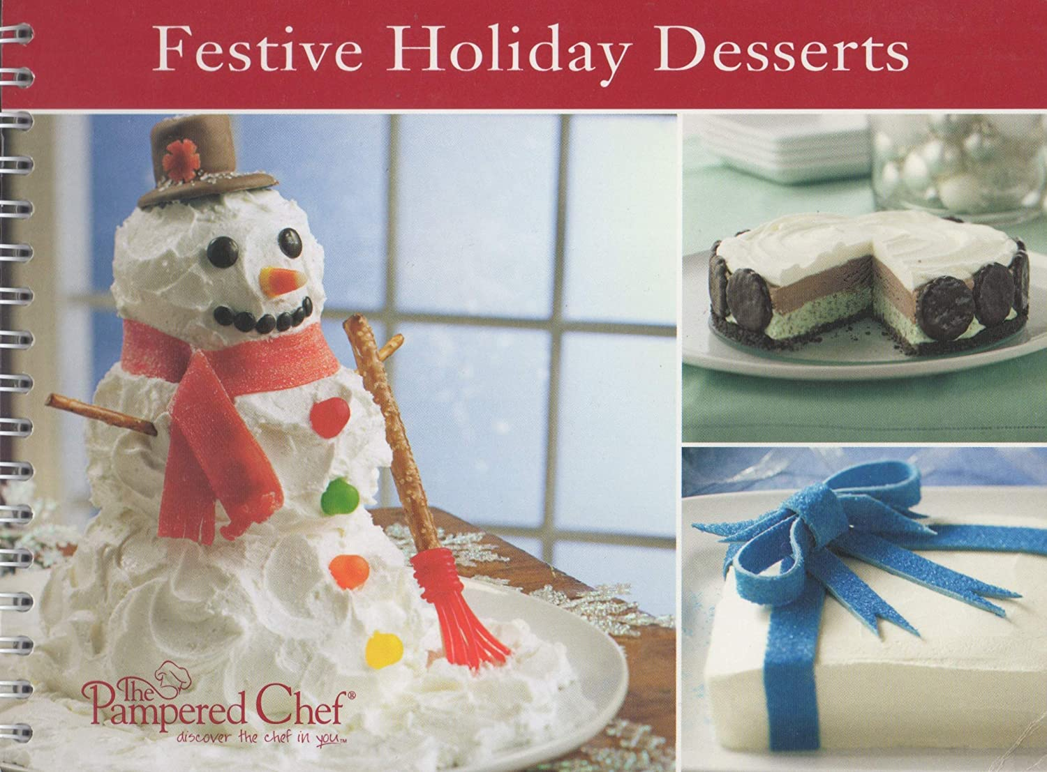 The Pampered Chef Festive Holiday Desserts Recipe Collection 2216
