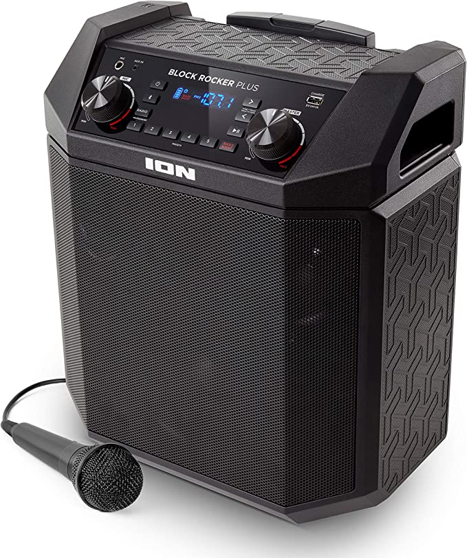 ION Audio Block Rocker Plus Portable Speaker