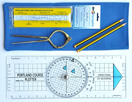 Portland Plotter, divisores, velocidad-tiempo-distancia navegación ...