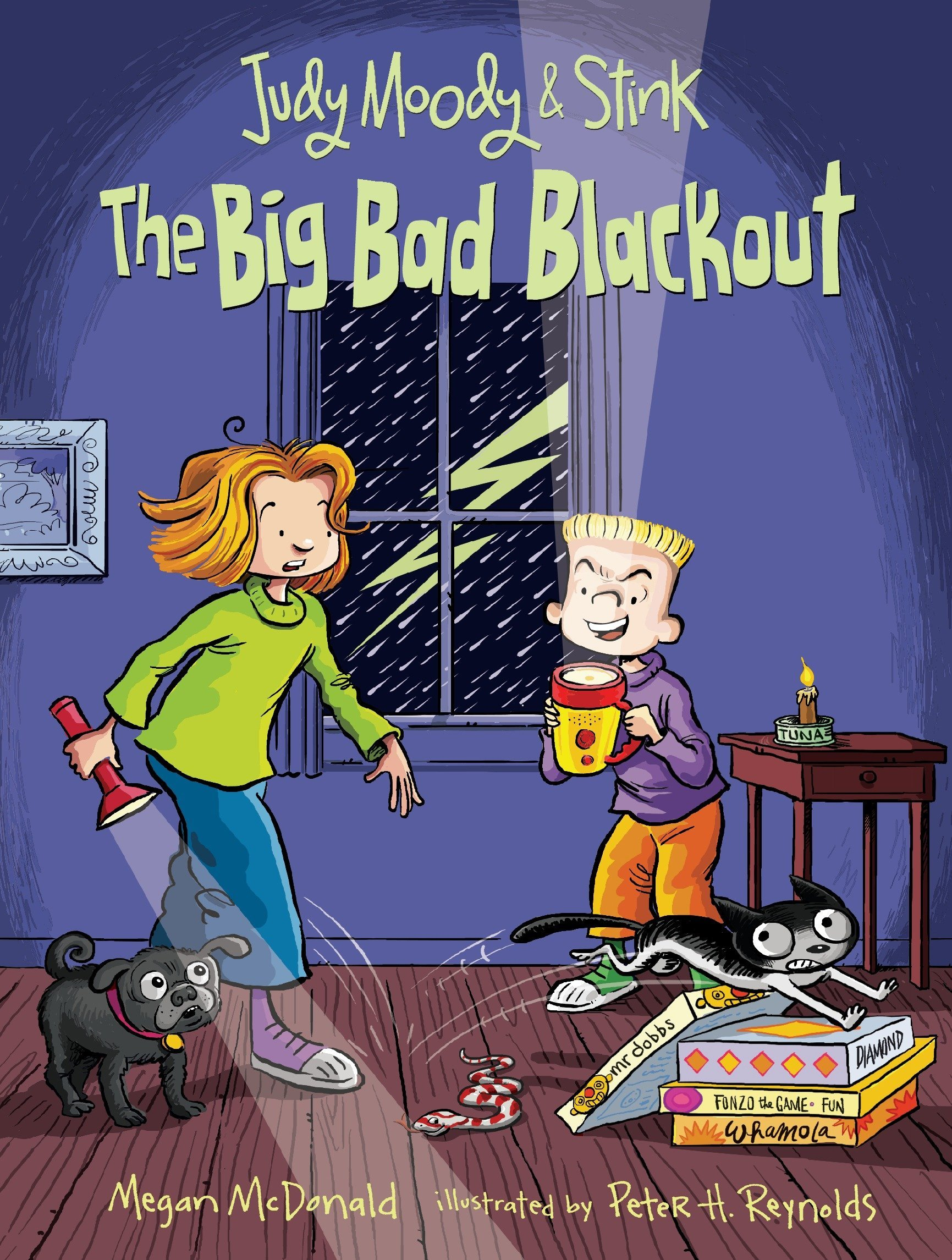 Read Online Judy Moody and Stink: The Big Bad Blackout pdf epub