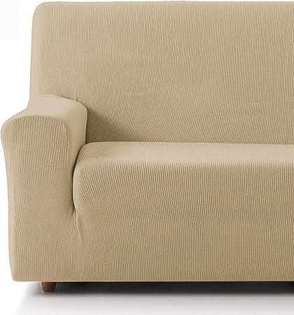 Oferta amazon: Eiffel Textile Funda Sofa Elastica Protector Adaptable Rústica Sofá, 50% Poliéster, Beige, Pack 3+2 Plazas