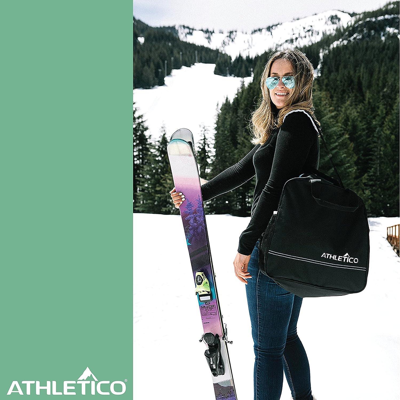 Store /& trasporto sci fino a 200/cm e stivali fino alla taglia 13/ Athletico two-piece borsa porta scarponi da sci e Combo include 1/sacca da sci /& 1/borsa porta scarponi da sci
