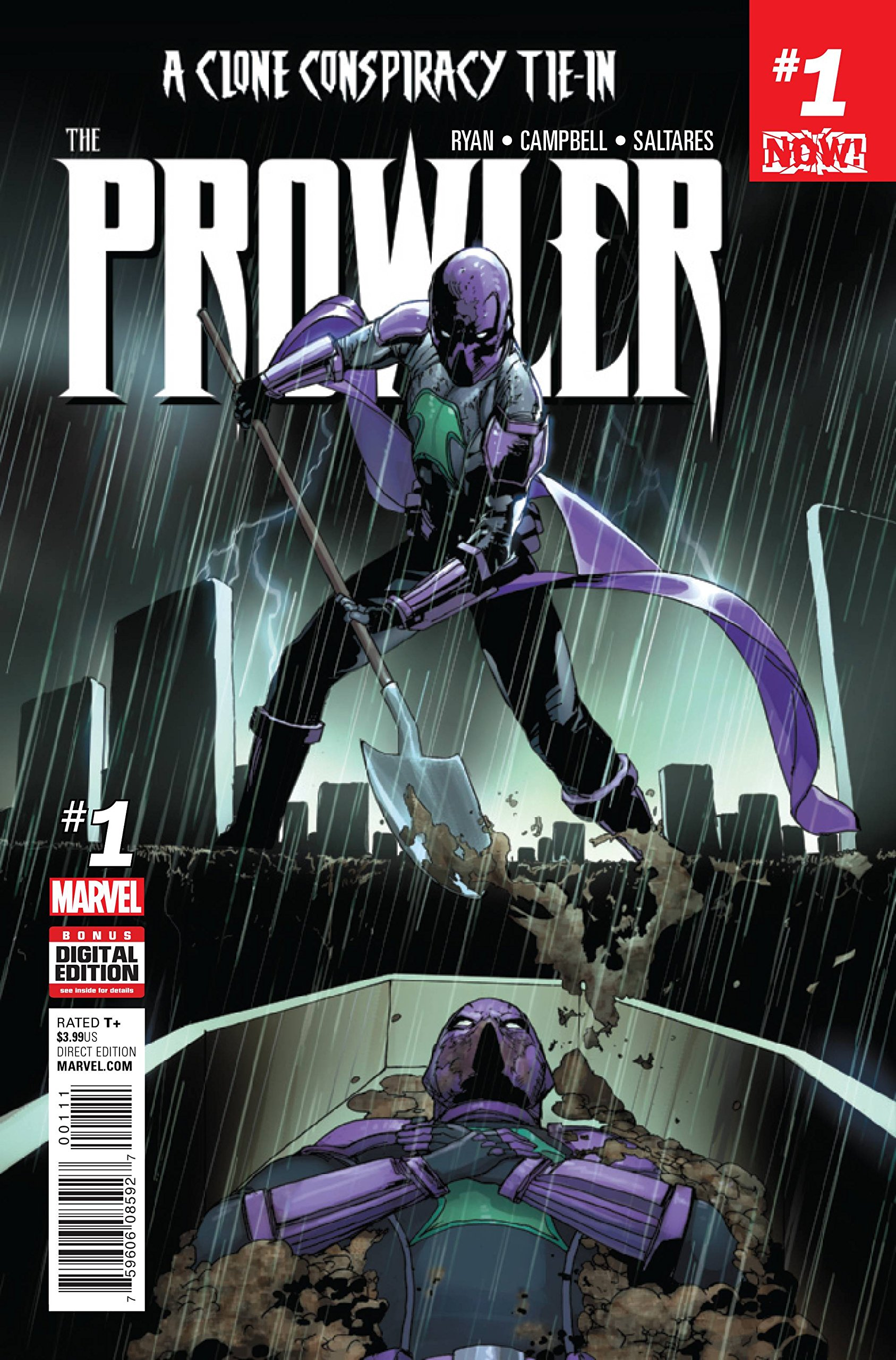 Read Online PROWLER #1 NOW (CLONE CONSPIRACY TIE-IN) pdf epub